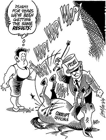 corruption in jamaica Learn more about the jamaica economy, including the population of  a bloated  public sector, high crime and corruption, red tape, weak rule of law, and a high.